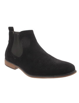 Mens Faux Suede Chelsea Boots Designer Smart Casual Desert Dealer Ankle Shoes by Ebay Seller