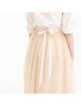 Tulle Sparkle Ball Skirt by J.Crew