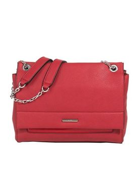 Parfois   Red Riscada Handbag by Parfois