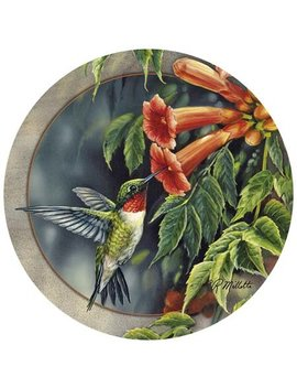 Thirstystone Hummingbird & Trumpet Vine Coaster & Reviews by Thirstystone