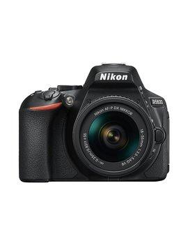 "Nikon D5600   Kit De Cámara Réflex De 24.2 Mp Con Objetivo Af P Dx 18 55 Mm Vr, Pantalla Táctil De 3"", Full Hd, Color Negro   Versión Europea by Nikon"