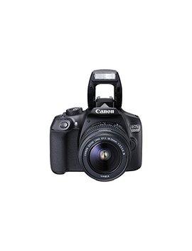 """Canon Eos 1300 D   Cámara Réflex De 18 Mp (Pantalla De 3"""", Full Hd, 18 55 Mm, F/3.5 5.6, Nfc, Wi Fi), Color Negro   Kit Con Objetivo Ef S 18 55 Mm Dc Iii (Versión Europea) by Canon"""