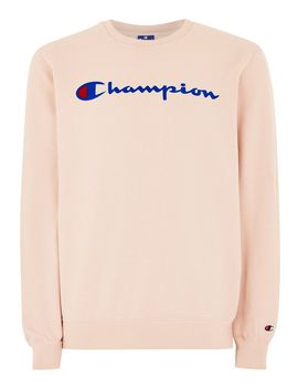 Champion Pink Sweatshirt by Topman