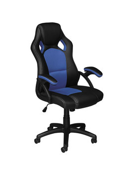 Eclipse Ergonomic High Back Executive Gaming Chair   Black/Blue by Best Buy