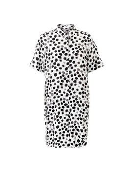 Spot Print Shirt Dress by Olivar Bonas