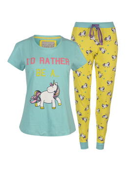 Slogan Pj Set by Rock And Rags