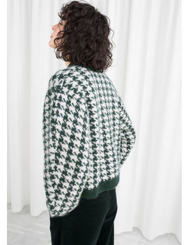 Houndstooth Sweater by & Other Stories