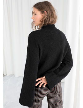 Bell Sleeve Turtleneck Sweater by & Other Stories