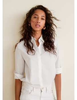 Katoenen Basic Overhemd by Mango