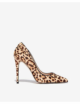 Steve Madden Leopard Daisie Heeled Pumps by Express