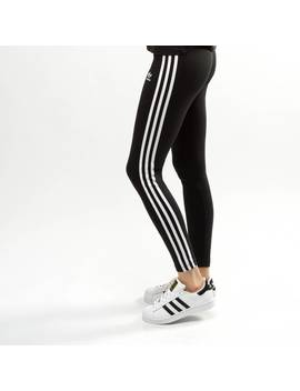 Womens Adidas 3 Stripes Leggings by Adidas