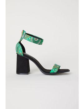 Sandaletten Mit Blockabsatz by H&M