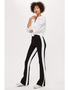 Striped Flares by Topshop