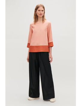 A Line Top With Contrast Detail by Cos