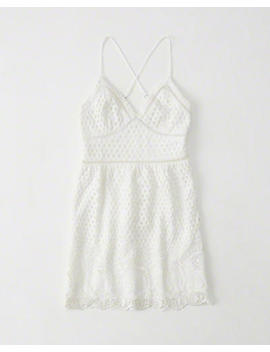 Eyelet Lace Dress by Abercrombie & Fitch