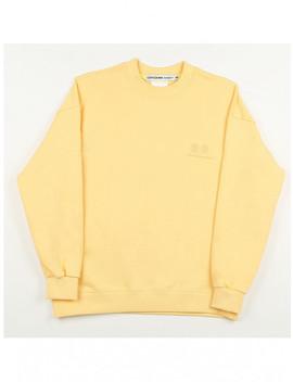 Raku Sweatshirt Light Yellow by Conichiwa Bonjour