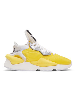 Yellow Kaiwa Sneakers by Y 3