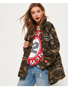 Rookie Oversized Jacket by Superdry
