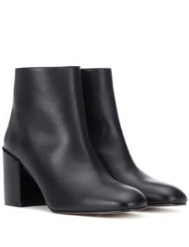 Coban Leather Ankle Boots by Stuart Weitzman