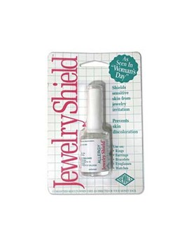 Allergy Jewelry Shield   Paint On Protective Barrier   Includes Brush by Eurotool