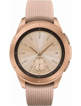 Galaxy Watch Smartwatch 42mm Stainless Steel   Rose Gold by Samsung