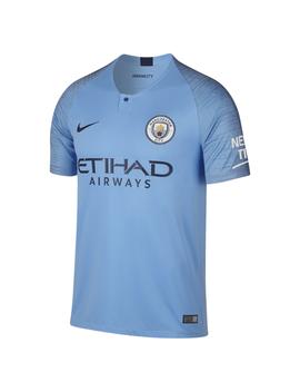 O Camisola De Futebol 2018/19 Manchester City Fc Stadium Home Para Homem. by Nike