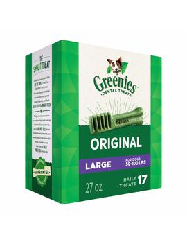 Greenies Dog Dental Chews Dog Treats   Large Size (50 100 Lb Dogs) by Greenies