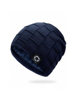 "<P>Simple Checkered Pattern Embellished Thicken Beanie</P><I Class=""Icon Down Js Tap Up Down""></I> by Dress Lily"