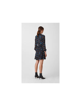 Elderberry Print Dobby Dress by Whistles