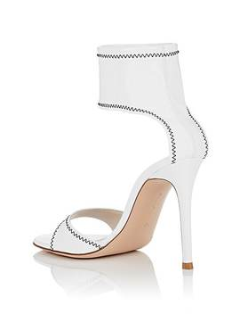 Vinyl Ankle Strap Sandals by Gianvito Rossi