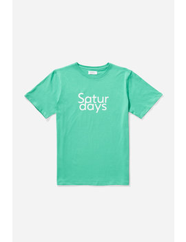 Saturdays T‑Shirt Seafoam Green           Colin Boardshort   Cobalt              Coen Pop Over Long Sleeve Shirt   Black              Jake Jacquard Short Sleeve Polo   Black              Jp Tape Zip Hooded Sweatshirt   Cobalt by Saturdays Nyc