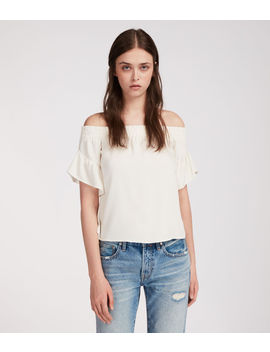 Adela Chambray Top by Allsaints