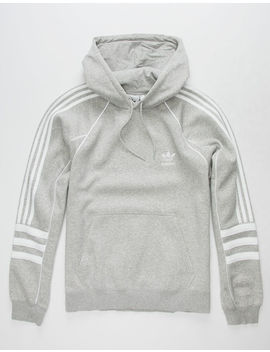 Adidas Originals Authentic Grey Mens Hoodie by Adidas