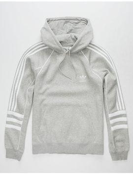 Adidas Originals Authentic Grey Mens Hoodie by Adidas