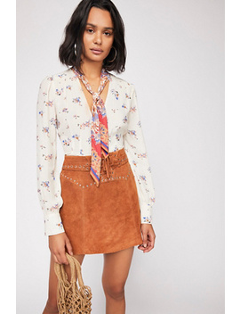 Georgia Peach Tie Top by Free People