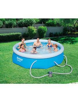"Bestway 10' X 30"" Fast Set™ Pool Kit Bestway 10' X 30"" Fast Set™ Pool Kit by Kmart"