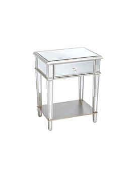 Roosevelt 2 Tier Nightstand, Mirrored by One Kings Lane