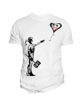 Changes Mens Harley Quinn Stencil Graphic T Shirt by Changes