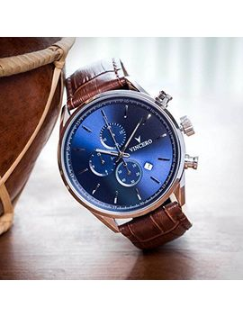 Vincero Luxury Mens Chrono S Wrist Watch 43mm Chronograph Japanese Quartz New by Ebay Seller