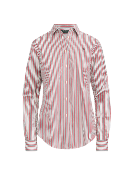 Monogram Striped Shirt by Ralph Lauren
