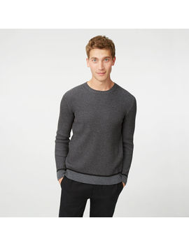 Plaited Merino Crew Sweater by Club Monaco