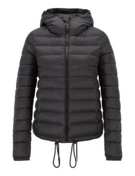 Lightweight Down Filled Jacket With Water Repellent Outer by Boss