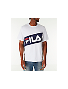 Men's Fila Diagonal T Shirt by Fila