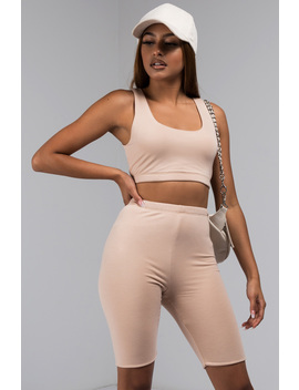 Paint Me Nude Crop Top by Akira