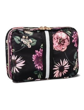 Sonia Kashuk™ Cosmetic Bag Always Organized Dark Floral With Webbing by Shop This Collection