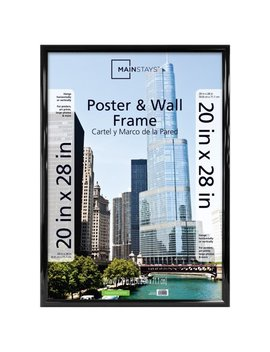 Mainstays Ms 20x28 Rounded Black Poster Frame by Mainstays