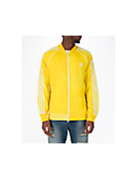 Men's Adias Originals Pharrell Williams Hu Holi Superstar Track Jacket by Adidas