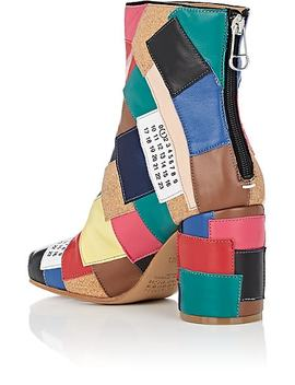 Patchwork Ankle Boots by Maison Margiela