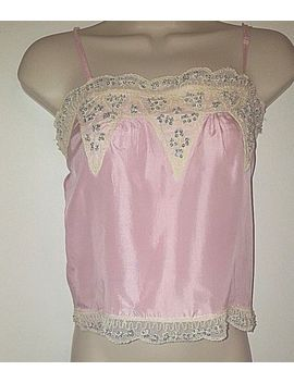 Guess Silk & Sequin Cami Top Sz Sp by Guess