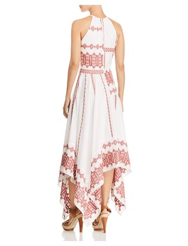 Milanira Embroidered Maxi Dress by Joie